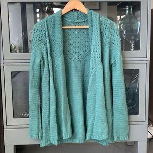 O'Neill teal sweater
